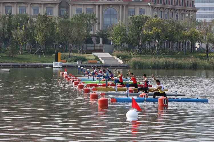 [组图]-全运会皮划艇(静水)比赛正式开赛