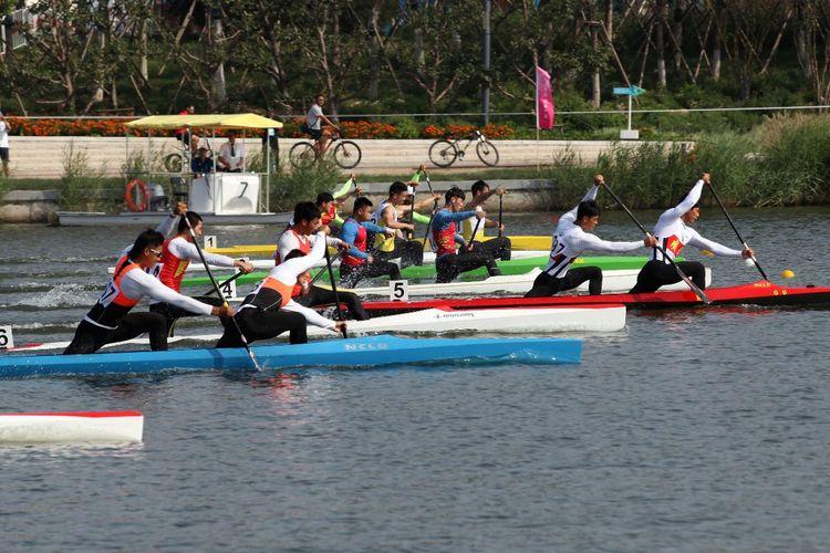 [组图]-全运会皮划艇(静水)比赛第二场顺利结束