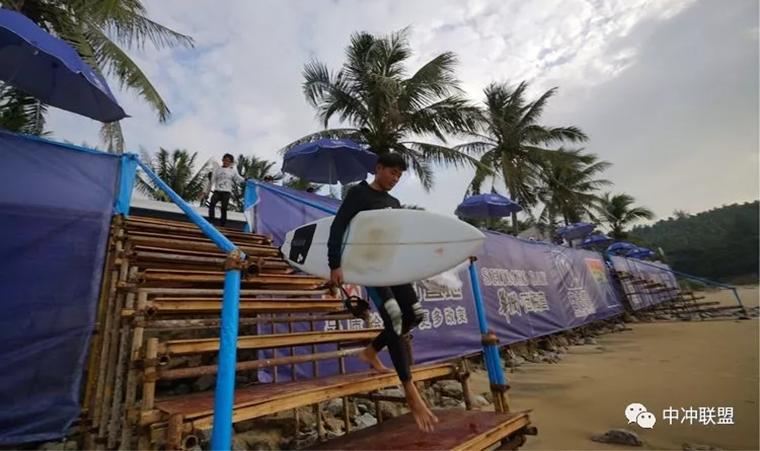 2017全国青少年冲浪锦标赛落下帷幕