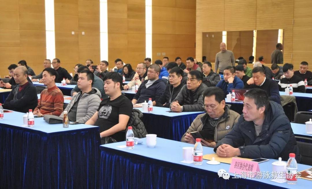 上海市游泳救生协会年会暨表彰会在东方体育大厦举行
