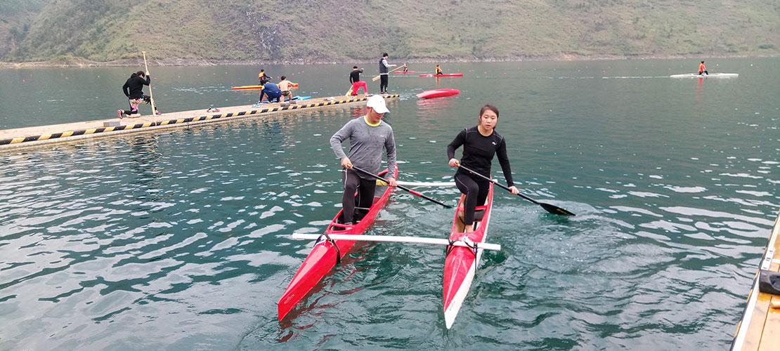皮划艇项目跨界跨项大集训 阶段工作情况报告