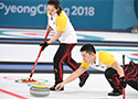 冰壶混双:中国胜韩国