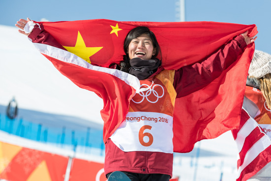 展现自我享受比赛 刘佳宇实现单板奖牌突破
