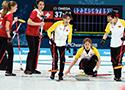 冰壶:中国女队首战告捷