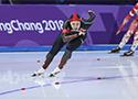 女子1000米:张虹获第11名