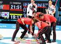 中国女子冰壶队不敌韩国