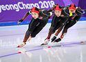 女子团体追逐1/4决赛中国第5