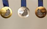 索契冬奥会金、银、铜