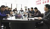安徽省体育局领袖到省体育中心调研工作
