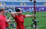 射箭世界杯赛官方训练日