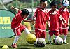 亚足联草根足球日运动今天在京举行