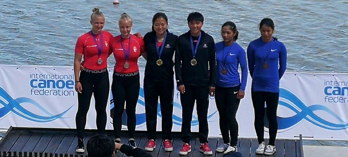 中国女子划艇称雄世界杯 斩获7金4银1铜