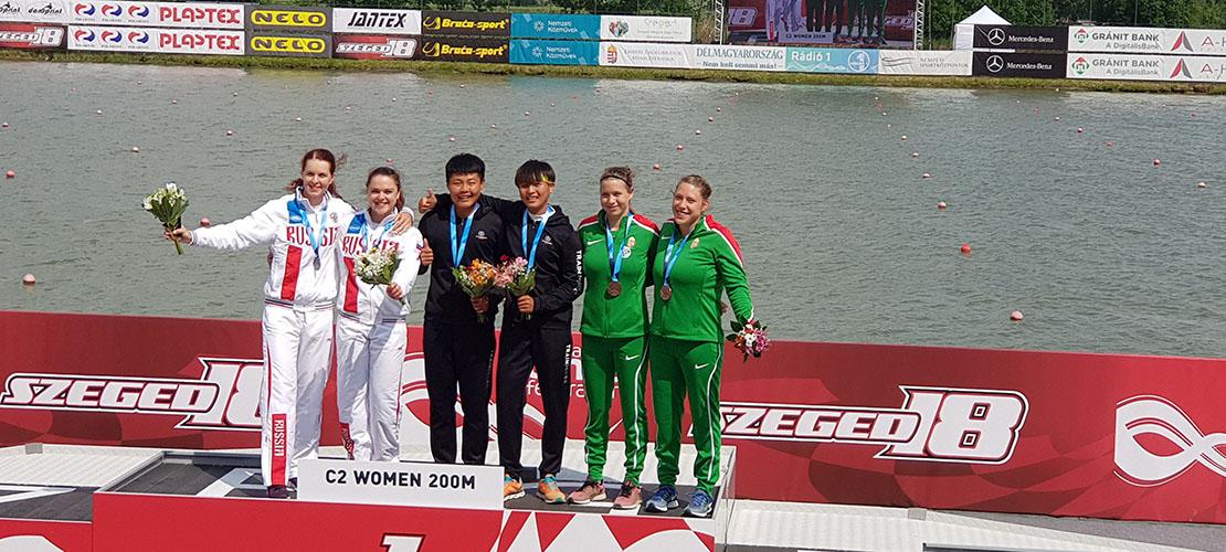 皮划艇世界杯中国队成绩优异 为东京奥运会蓄力