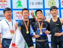 2015年宁夏石嘴山国际铁人三项赛业余组集锦