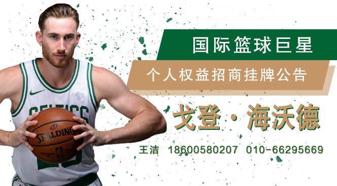 国际篮球巨星海沃德(中国区)个人权益