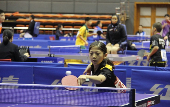 2018中国青少年乒乓球公开赛开拍