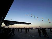 国际航联世界飞行者大会各式飞行表演在