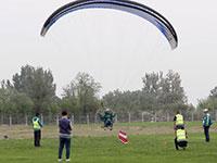 全国动力伞精英赛在衡水举行