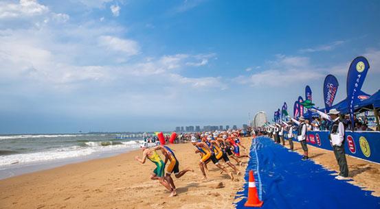 绥中东戴河铁三亚洲杯赛 加拿大与澳大利亚选手分获男女优秀组冠军