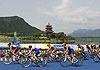 北京奥运十周年首次庆典 重回奥运赛场引爆铁三激情