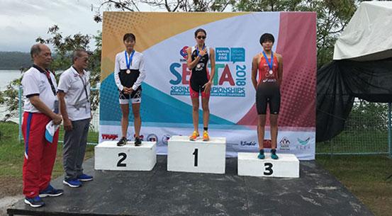 范俊杰和俞欣颖取得布宜诺斯艾利斯青奥会铁人三项参赛资格