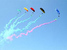 动力伞精彩图片