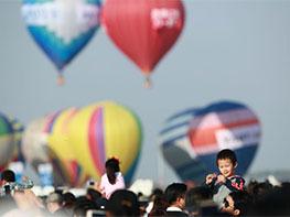 国际航联世界飞行者大会各式飞行