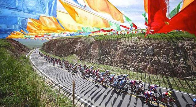 2018环青海湖国际公路自行车赛视频集锦