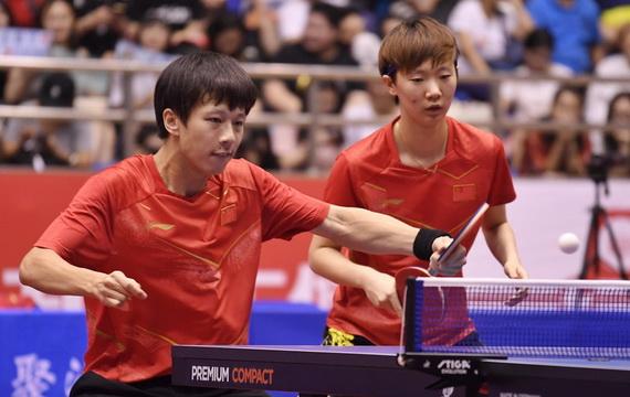中国队举行亚运会热身赛
