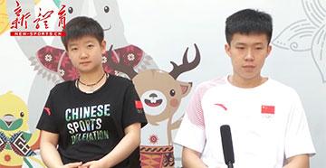 [亚运声音]乒乓球混双冠军王楚钦/孙颖莎