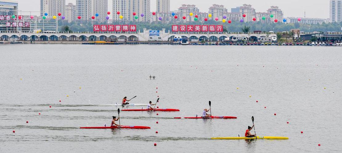 冠军级选手激战临沂 世界皮划艇静水挑战赛落幕