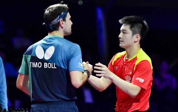 力克老將波爾 樊振東二奪男乒世界杯