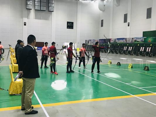 全国室外射箭锦标赛7日集