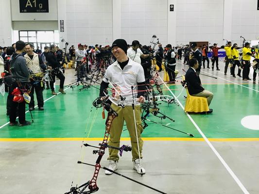 全国室内射箭锦标赛8日集锦