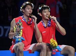 羽毛球世锦赛国羽收获两金