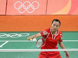 里约奥运会羽毛球小组赛:王仪涵获胜