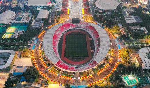 广州天河体育场全新亮相 体验人性化服务