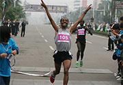 [组图]-海南儋州国际马拉松 埃塞俄比亚夺冠军