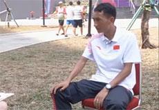 亚运声音:亚运会男子马拉松季军多布杰