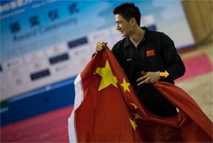 2015现代五项亚锦赛 苏海航摘铜