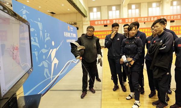 科技助奥智创辉煌 诺亦腾科技助力中国现代五项队