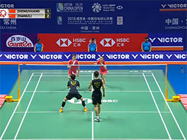 2018中国羽毛球公开赛混双决赛
