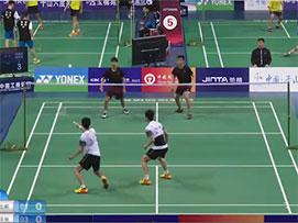 2019全国青年羽毛球锦标赛乙组男双第二场