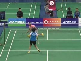 2019全国青年羽毛球锦标赛甲组女单半决赛