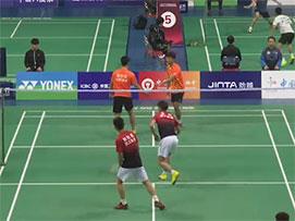 2019全国青年羽毛球锦标赛甲组男双半决赛
