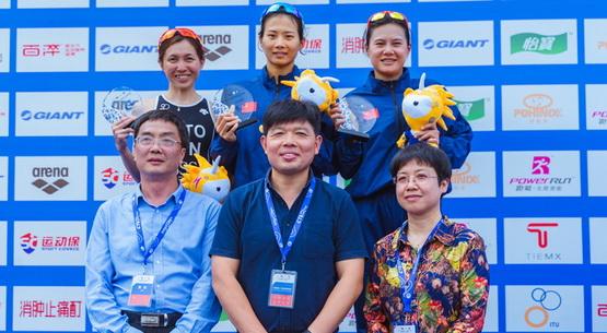 江西德兴铁人三项亚洲杯赛 仲梦颖夺冠