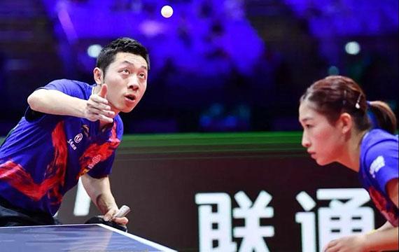 中国乒乓球公开赛 双打变阵只为找到最佳组合