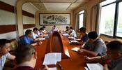 江西省体育局党组传达学习习近平总书记在江西视察时的重要讲话精神