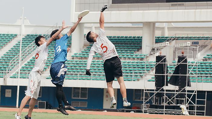 首届全国大学生极限飞盘锦标赛在厦门举办