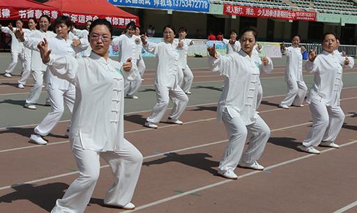 纪念毛泽东题词67周年 山西省全民健身热潮涌动